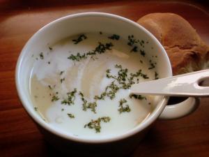 冷たいスープ♪