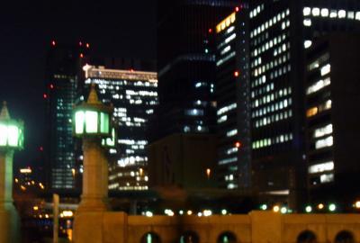 淀屋はしの夜の景色