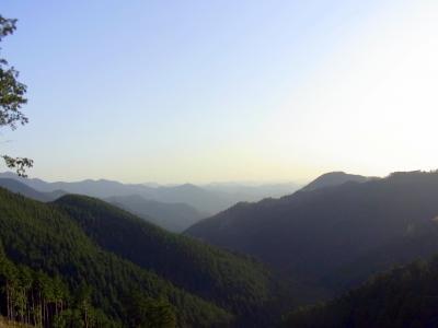120428大峰の山々