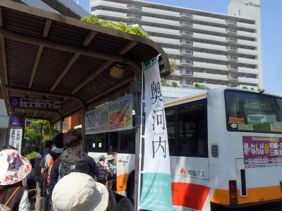 120527 河内長野駅からバスに揺られて