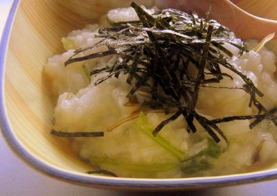 20120110朝の七草雑炊