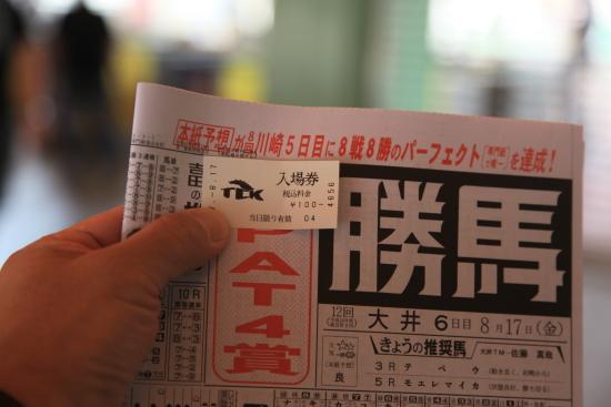 大井競馬 (4)