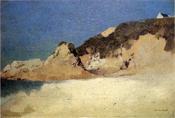ルドンの風景画2