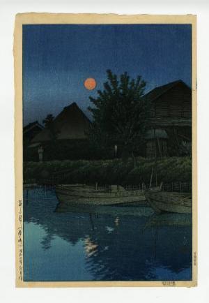 森ヶ﨑の月