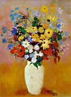 ルドンの花