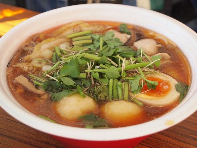 BASSO ドリルマン × 麺や七彩 × 魂麺2