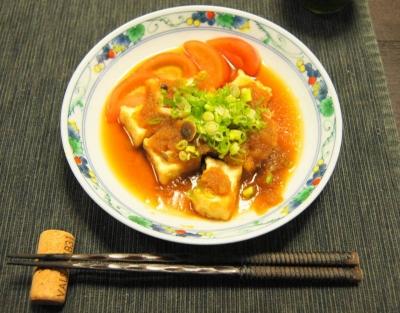 焼豆腐ステーキ