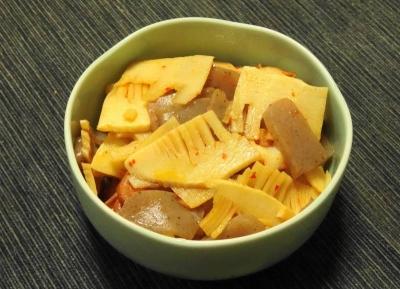 タケノコの炒り煮