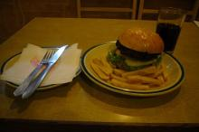 がねちゃんの食い散らかし、読み散らかし日記・・・時々癒し-ハンバーガー