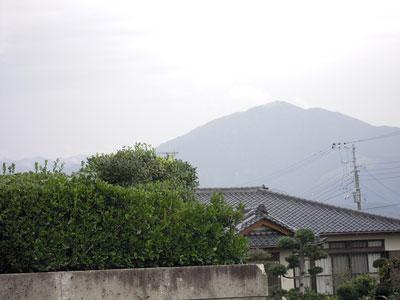 大山は見える