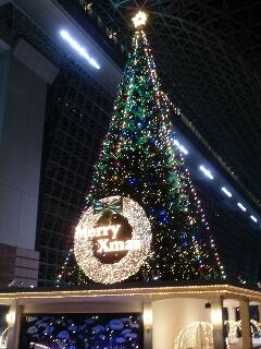 2010京都駅クリスマスツリー