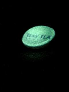 ライトストラップの光
