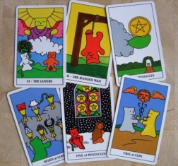 Gummy Bear Tarot 絵柄