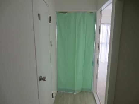 小物更衣室カーテン
