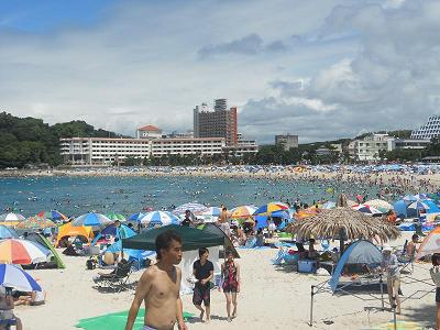 白良浜ビーチ