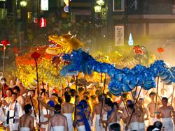 下呂温泉祭り 龍神