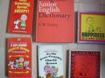 海外の辞書と漫画