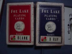 輸入カードマジック・Blank&Xray
