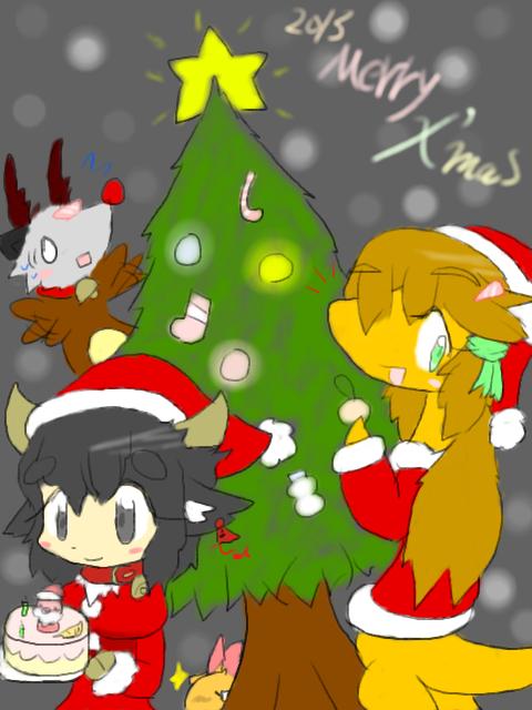 2013年クリスマス絵