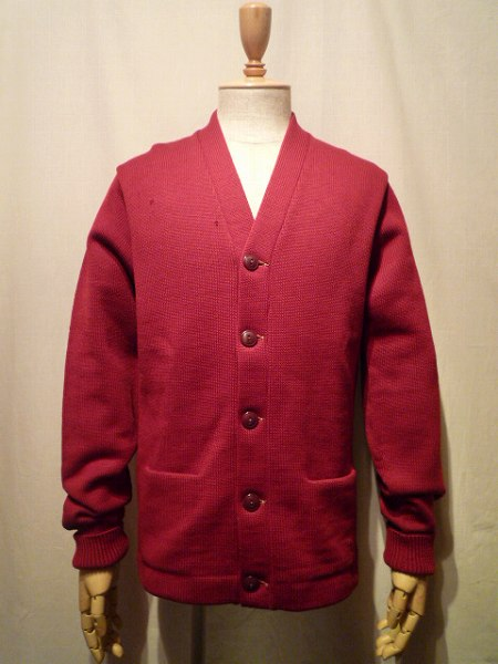 ~50's LETTERED CARDIGAN M程度