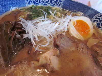 亀陣 鶏白湯醤油完食