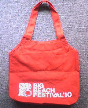 BIG BEACH FESTIVAL10オリジナルエコバック