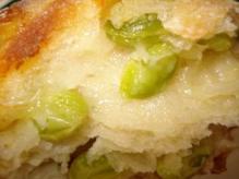 枝豆チーズリュス断面