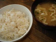 ご飯味噌汁
