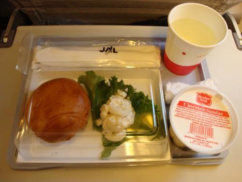 帰り機内食2