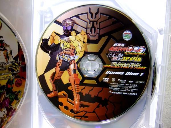 劇場版 仮面ライダーOOO WONDERFUL 将軍と21のコアメダル コレクターズパック