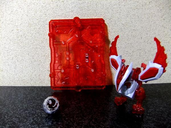プラモンスターシリーズ 01 レッドガルーダ