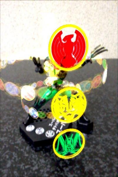 HYBRID GRADE 仮面ライダー01 仮面ライダーオーズ スーパータトバコンボ