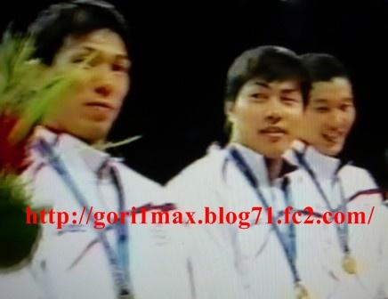 広州アジア大会・金メダル3