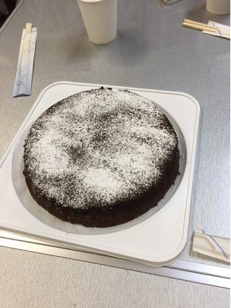桃まま作ケーキ