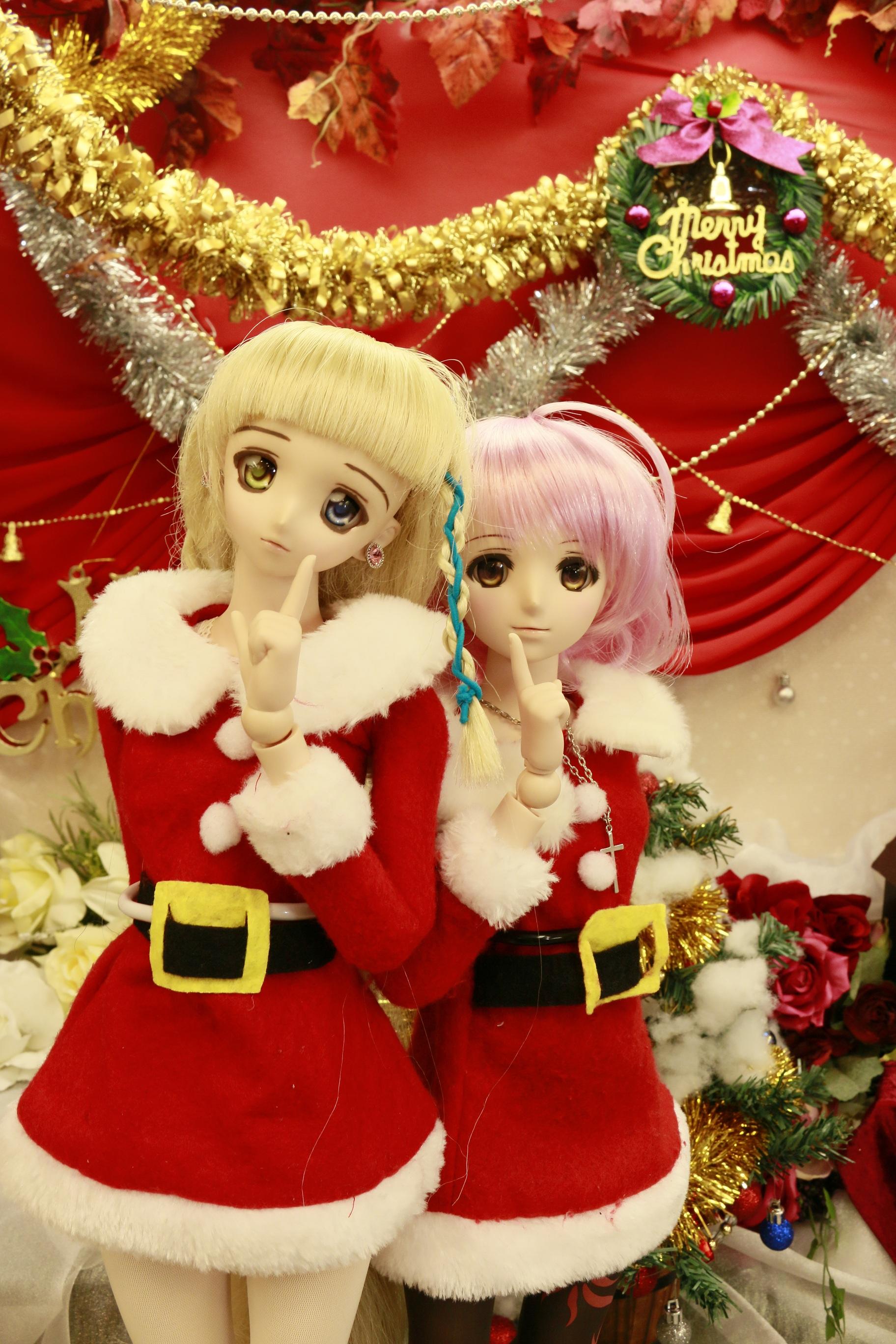 クリスマスの二人