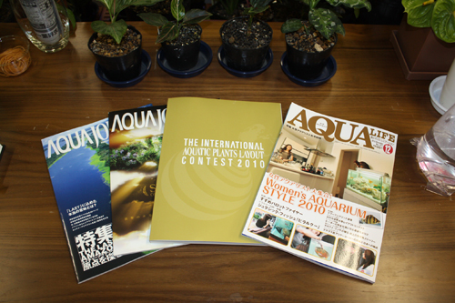 アクアライフ、アクアジャーナル、世界水草レイアウトコンテスト2010