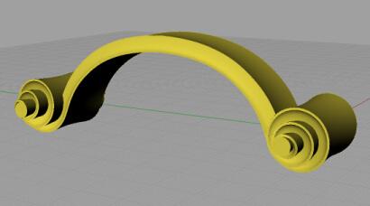 渦巻き モデリング2