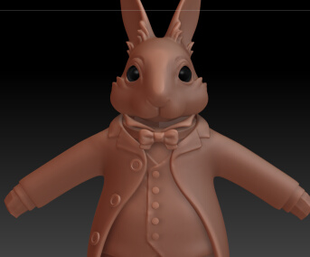 zbrush alice rabbit
