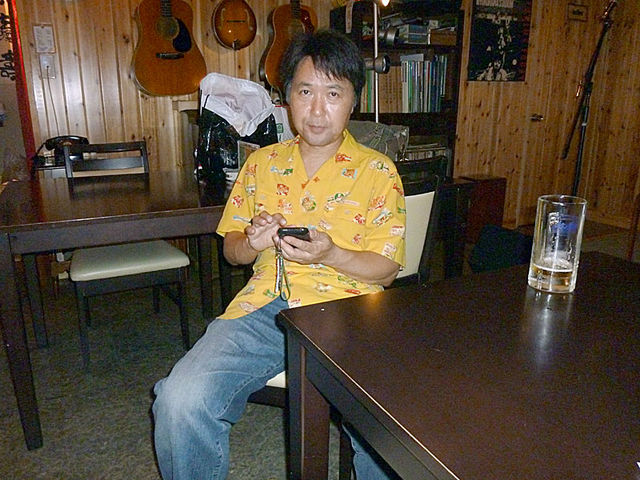 iPhone with S.Sakamoto