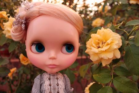 花のようにキレイなワタシ。