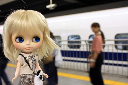 ばひゅーんの電車なのデス!