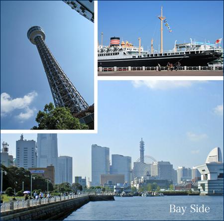 ぶらり横浜ベイサイド。