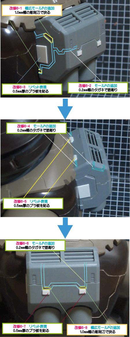 MGアッガイ(バックパックの改修)