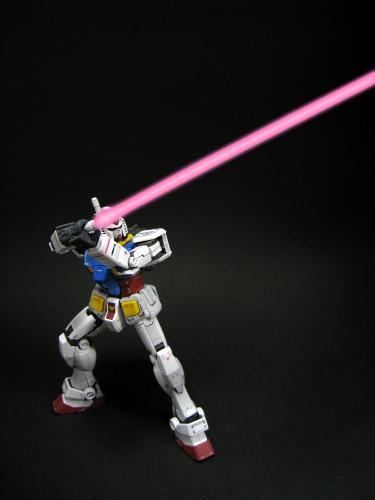 ビームサーベル発光②