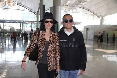 トニー&カリーナ@香港国際空港