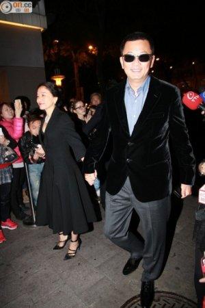 ウォン・カーウァイ監督と奥様