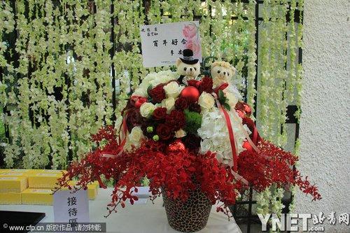 アン・リー監督からのお花