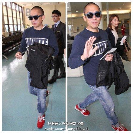 トニーさん@台湾の空港
