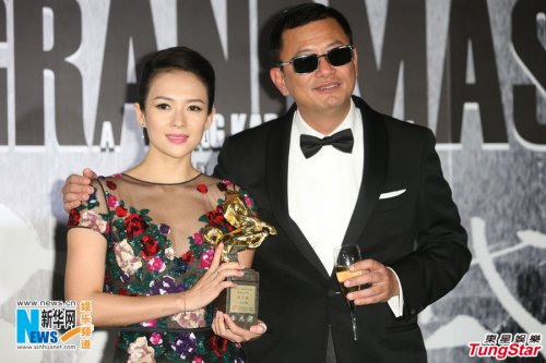 チャン・ツィイー、ウォン・カーウァイ