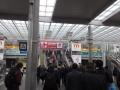 メッセ駅(朝)